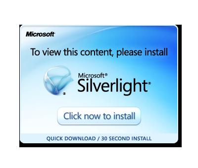 获取 microsoft silverlight